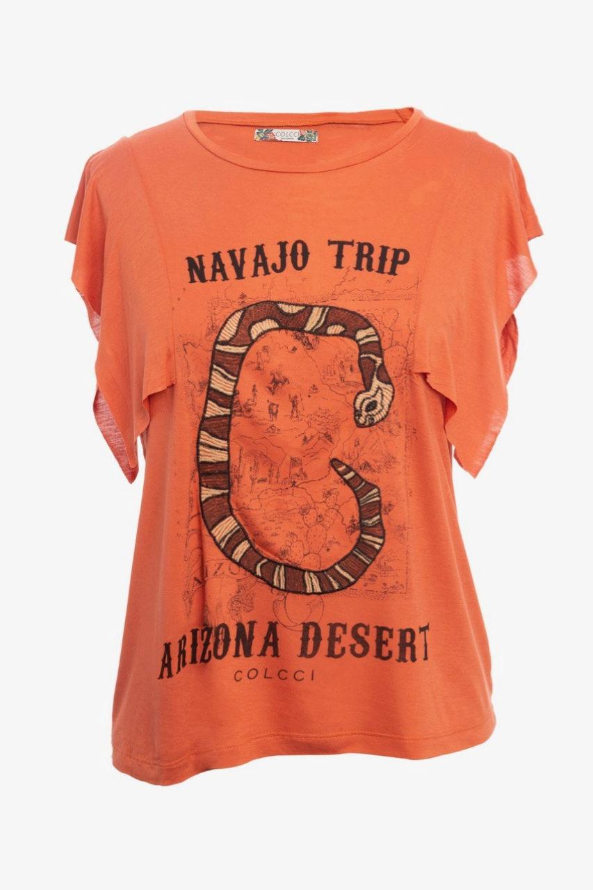 Camiseta de algodón con mensaje de Colcci (54,95¤)