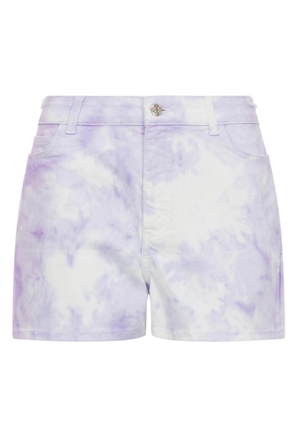Shorts con estampado 'tye dye' de Claudie Pierlot (c.p.v)