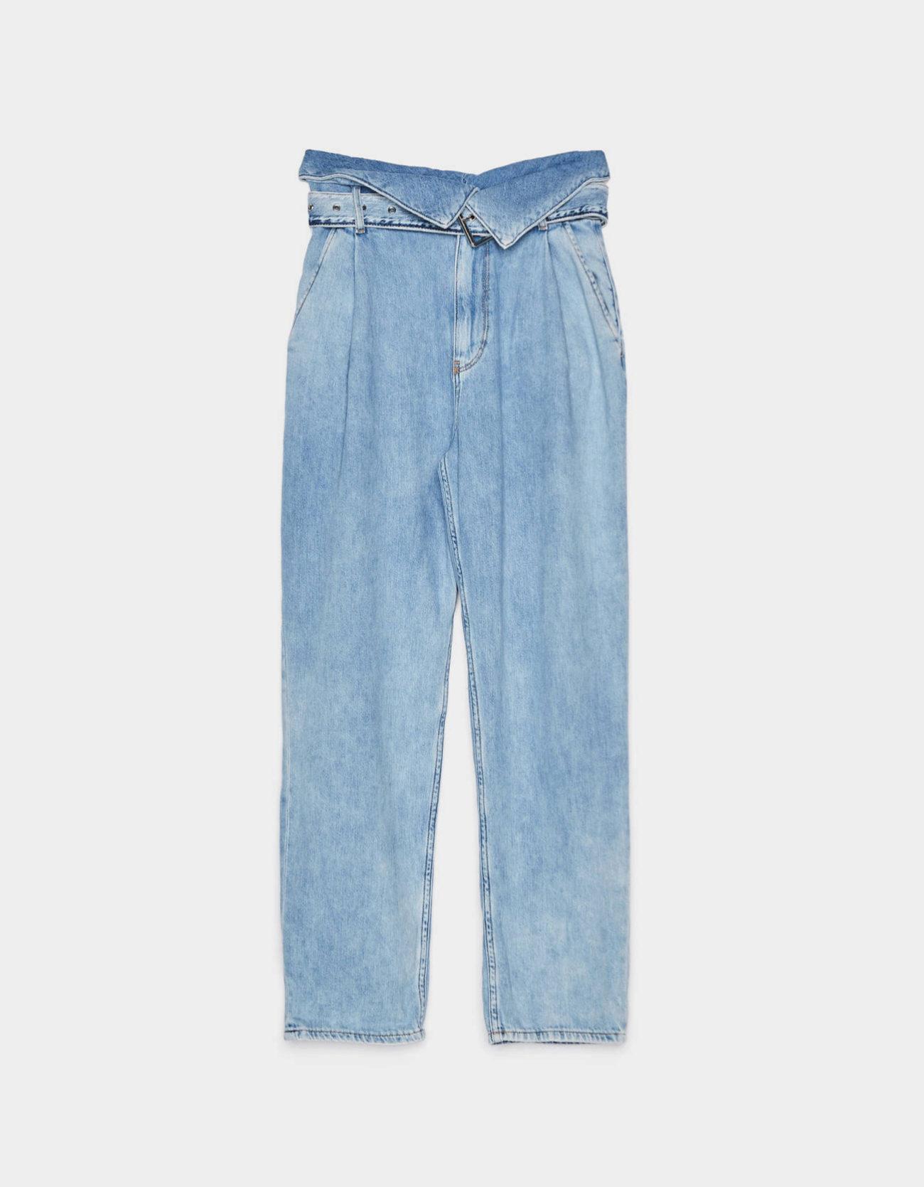 Jeans de corte mum de la colección Festival de Bershka (35,99¤)