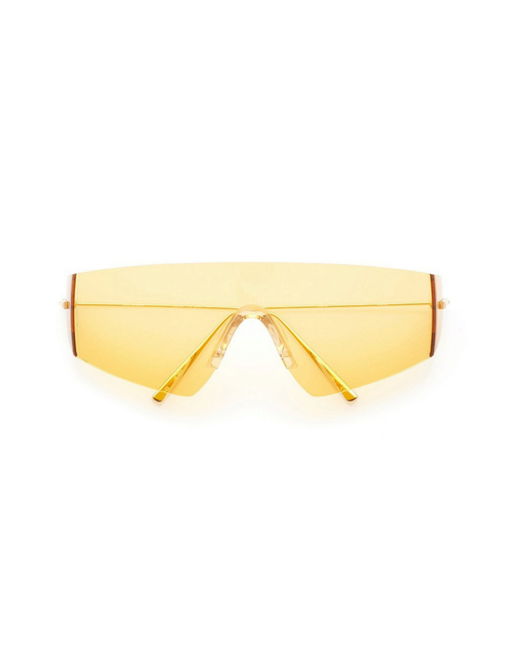 Gafas de sol en amarillo de Kaleos Eyehunters para Vasquiat (235¤)