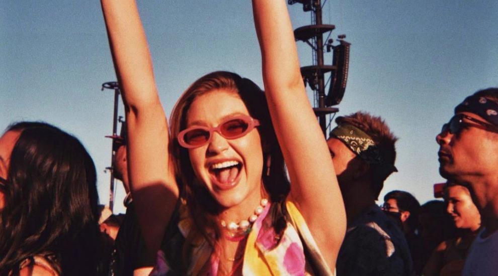 Gigi Hadid en los festivales