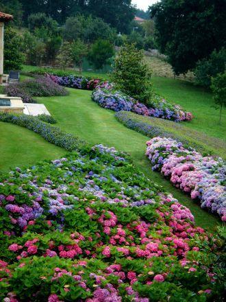 Jardín diseñado por Javier Mariátegui