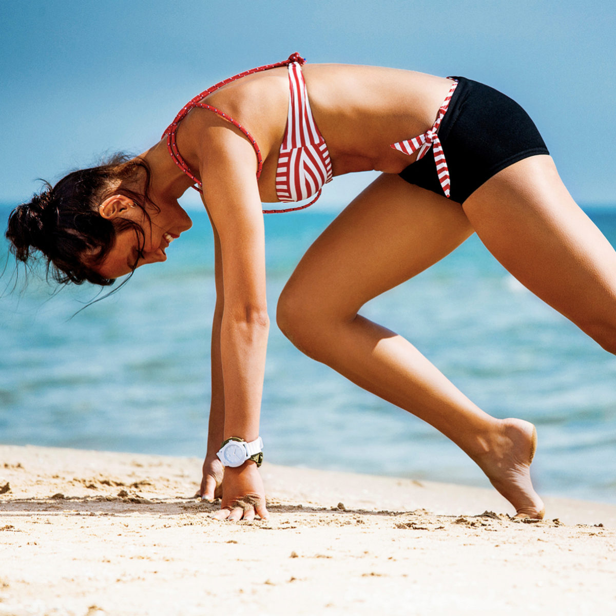 Hacer ejercicio es esencial en la menopausia.
