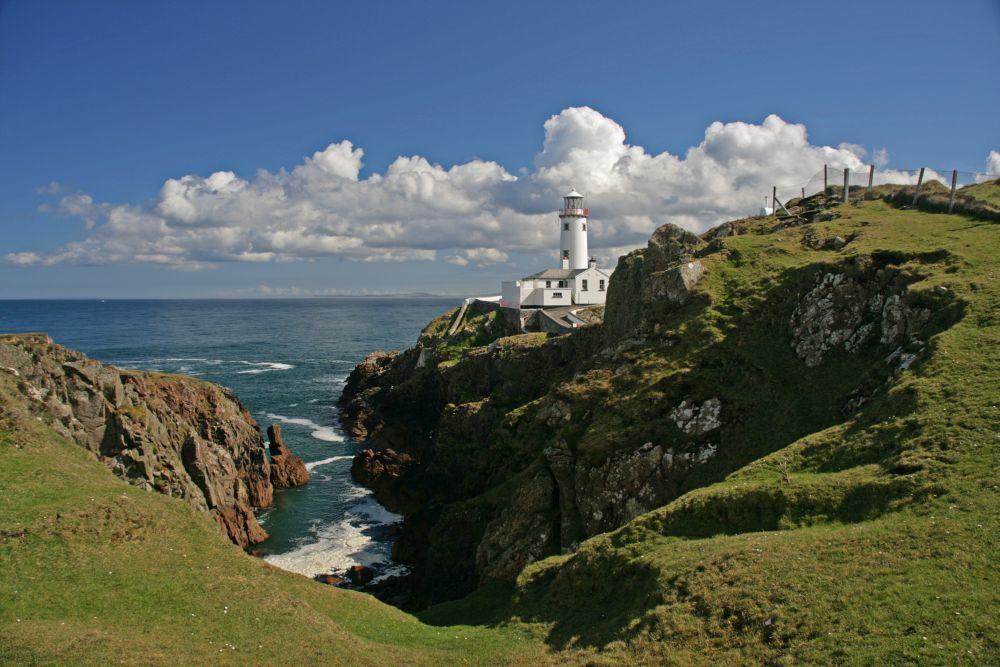 El faro de Fanad Head Lighthouse.