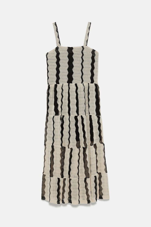 El vestido de Zara que lució la duquesa de Huéscar.