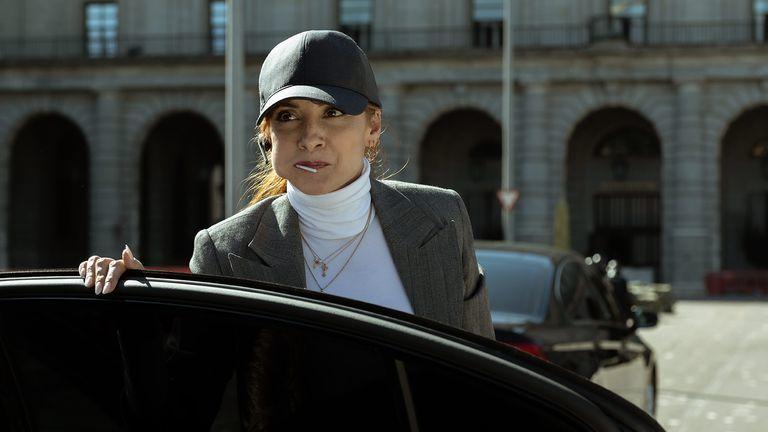 Najwa Nimri en la tercera temporada de La Casa de Papel