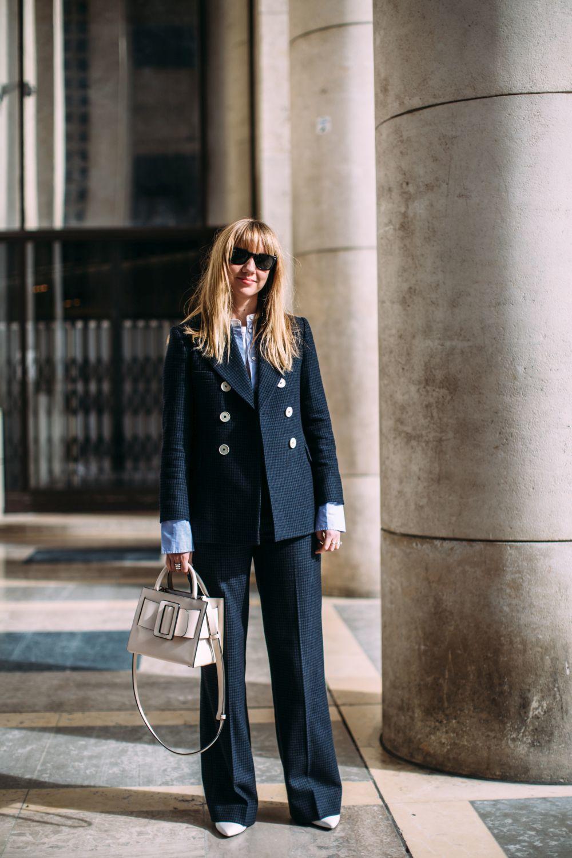 Un sastre en color neutro es el uniforme perfecto para acertar con tu...