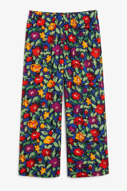 Pantalón culotte de algodón de Monki