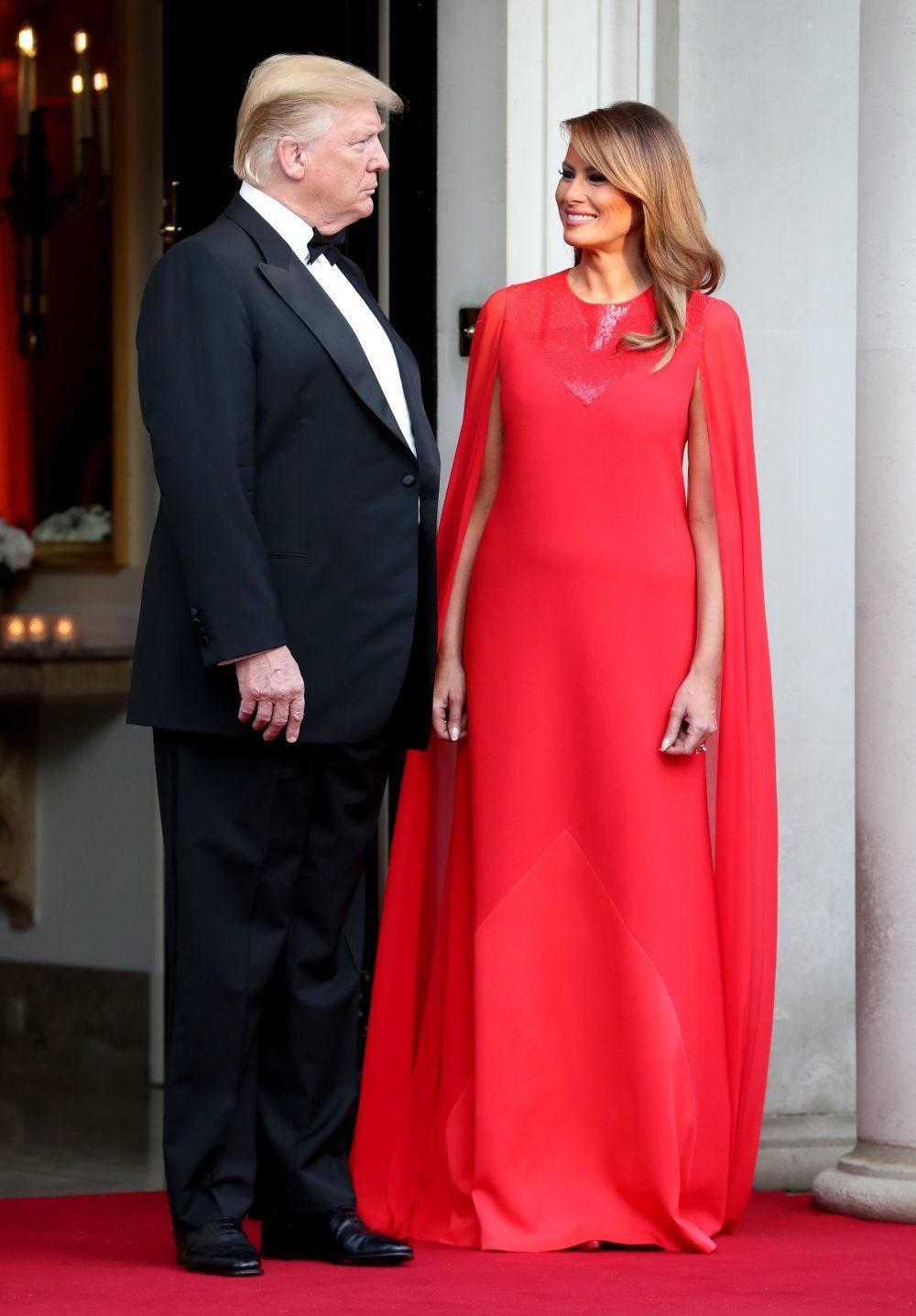 Melania y Donal Trump
