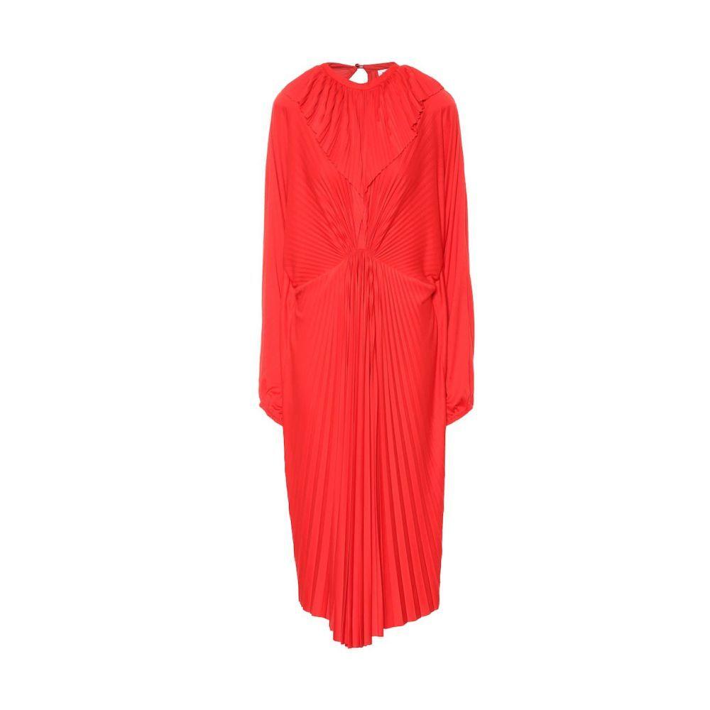 Vestido rojo de Vetements