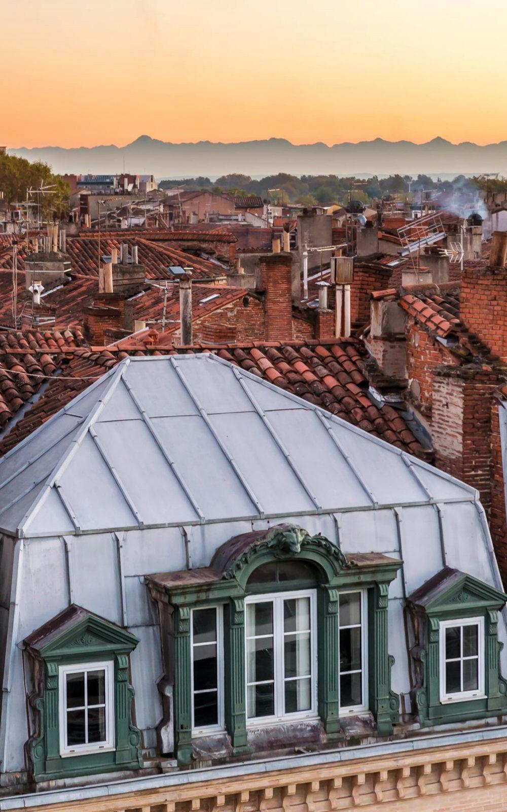 Atardecer en Toulouse