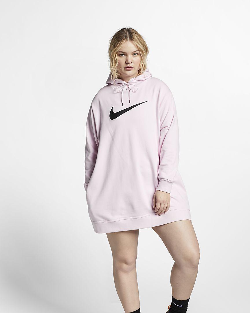 Desde 2017 Nike ha ampliado todas las tallas de sus prendas.