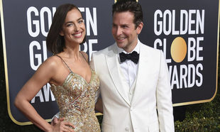 Irina Shayk y Bradley Cooper en los Globos de Oro