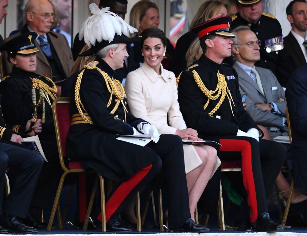 Kate Middleton en el Beating Retreat.