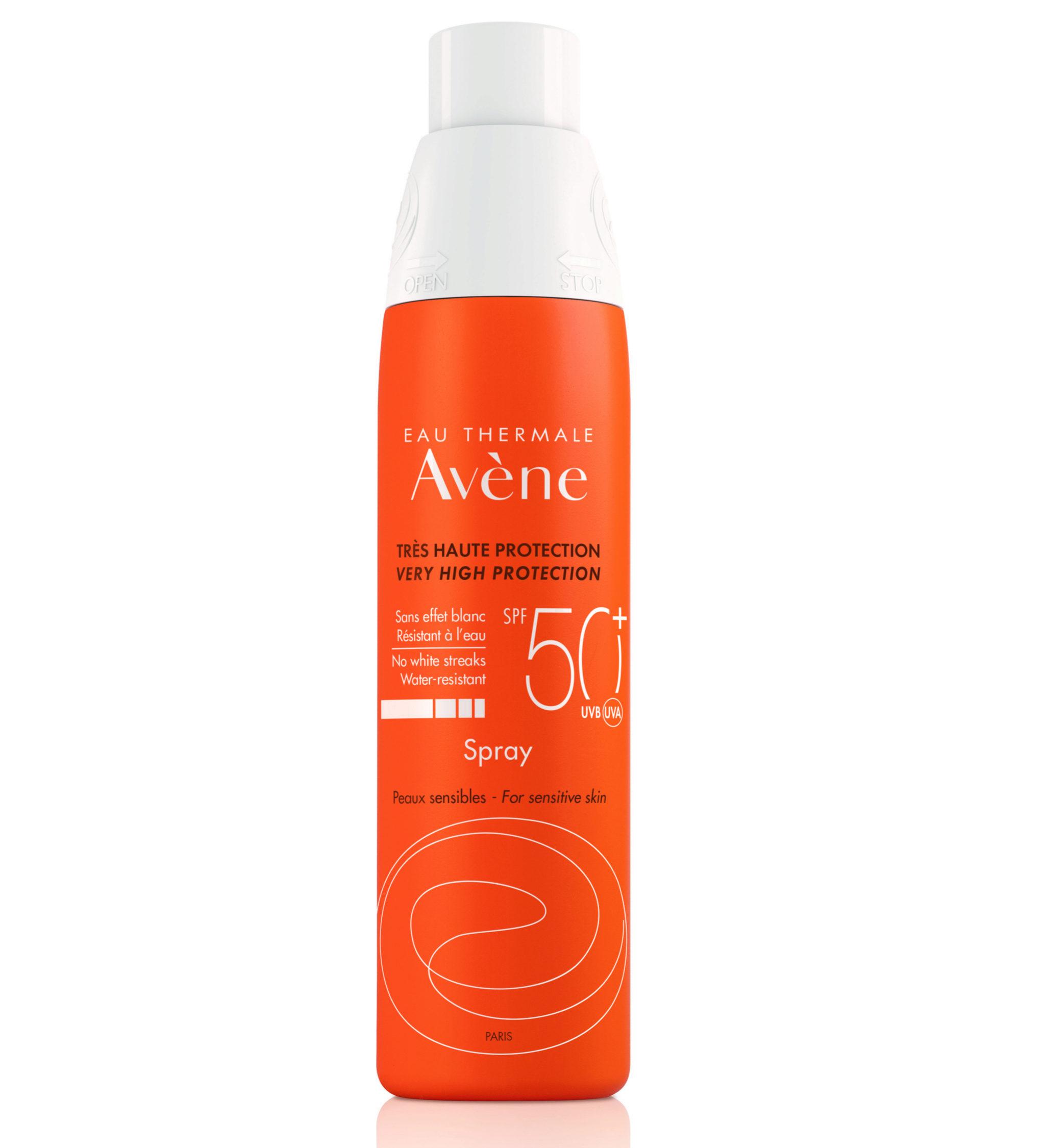 Protector solar de Avène en spray