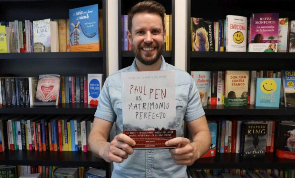 """Paul Pen ha publicado su cuarta novela, """"Un matrimonio perfecto""""."""