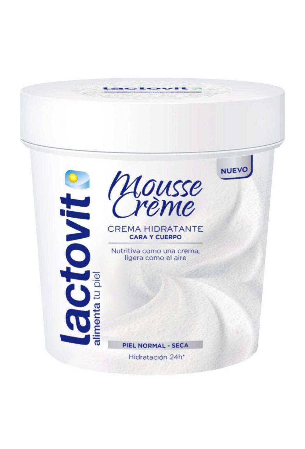 Mousse Crème, Lactovit (3,99 euros).