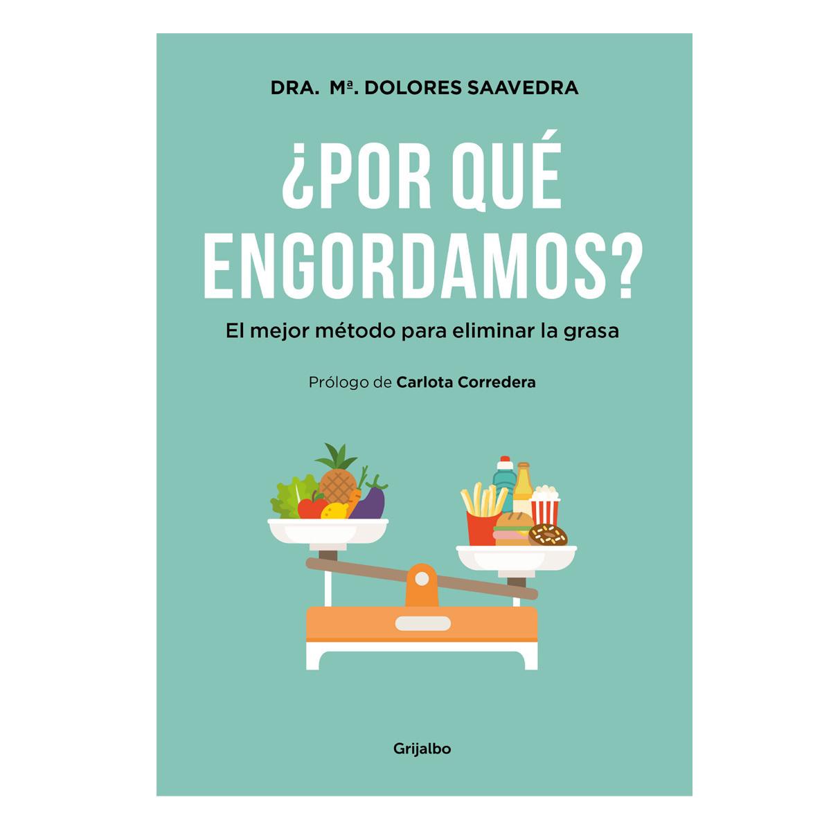 ¿Por qué engordamos?, el nuevo libro de la doctora Saavedra.