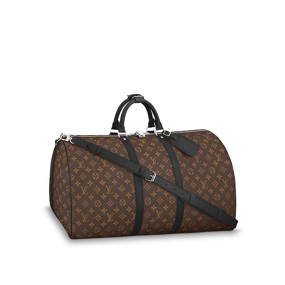 La bolsa de viaje Keepall 55 de LOUIS VUITTON.