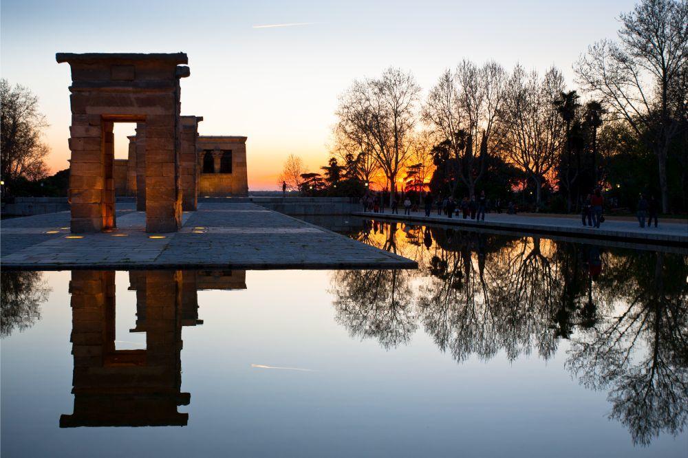 Templo de Debod (Madrid).