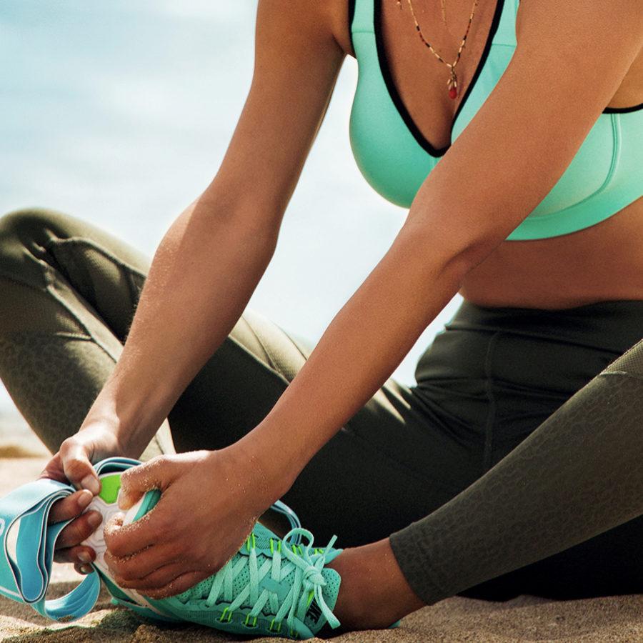 El contrafuerte es una parte importante de nuestras zapatillas.