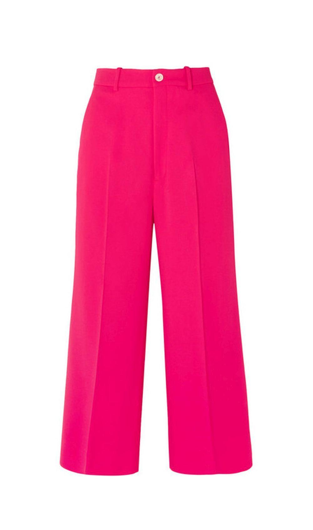 Pantalón rosa de Gucci.