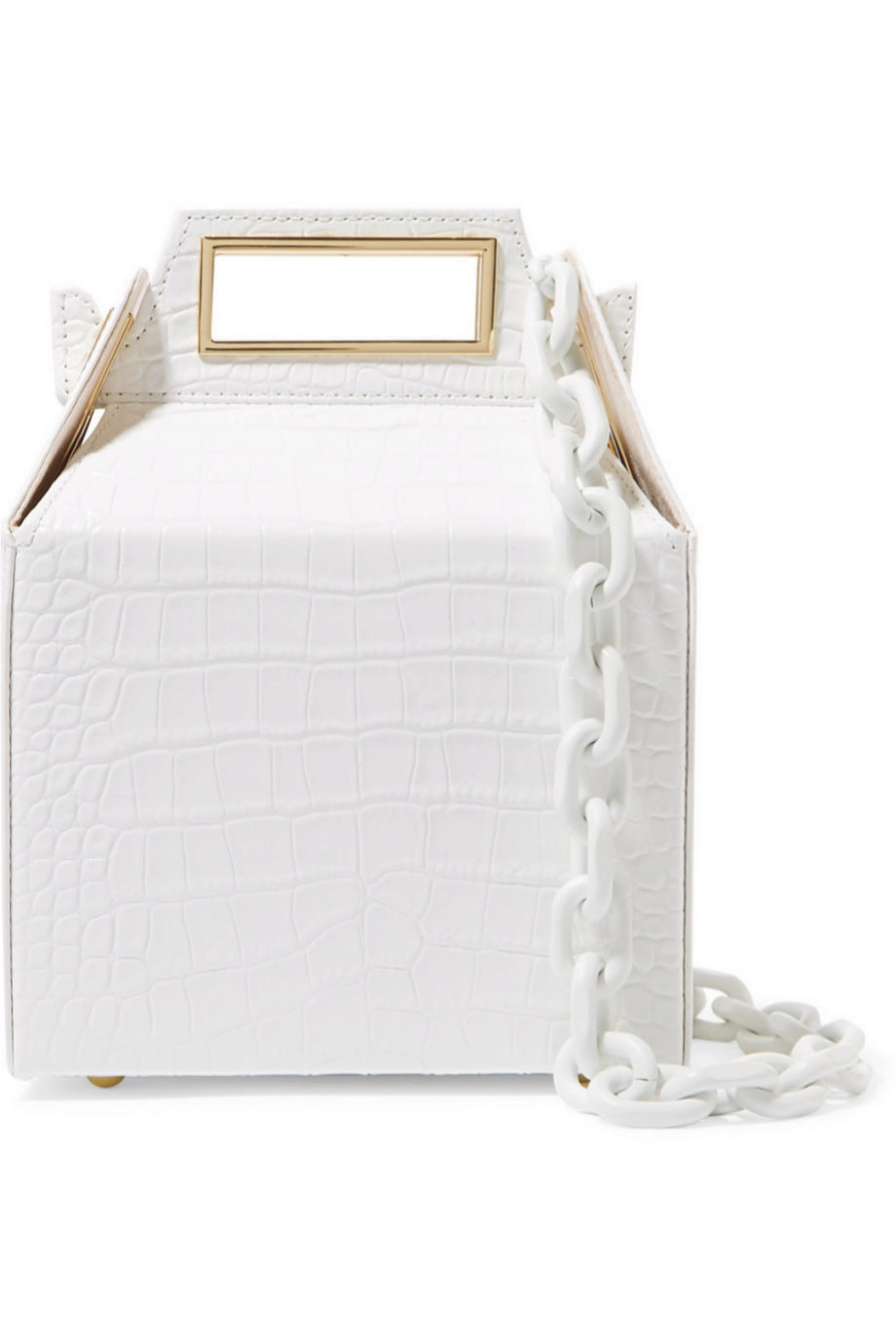 Bolso bandolera tipo caja de Pop & Suki