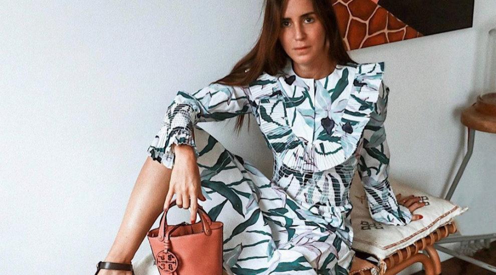 Gala González lleva su propia versión del vestido de volantes