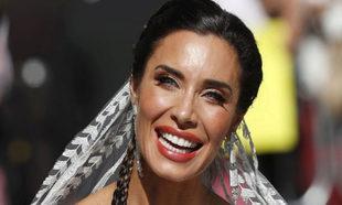 Pilar Rubio en su boda.