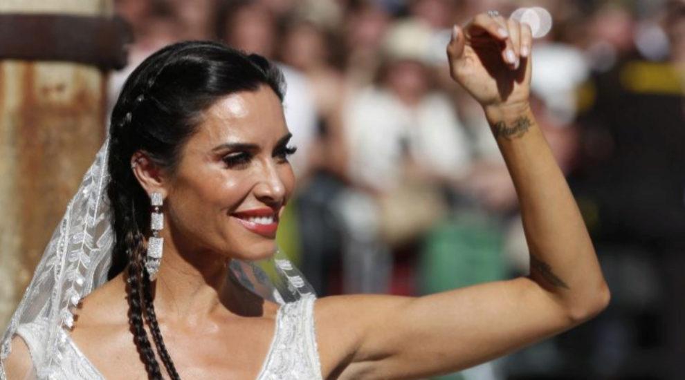 Pilar Rubio se viste de novia.
