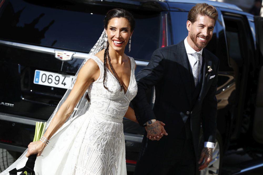 Los recién casados.