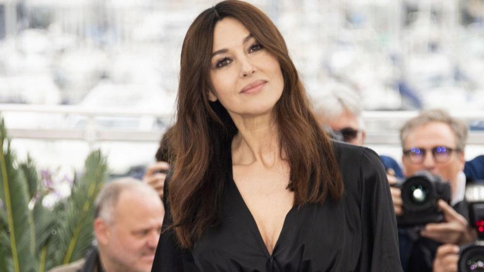 Monica Bellucci en el Festival de Cannes 2019.