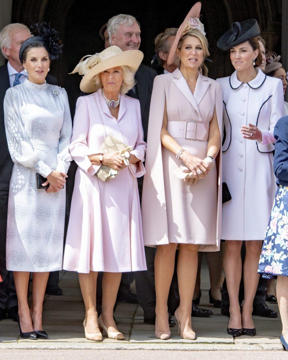 La reina Letizia, la Duquesa de Cornualles,Máxima de Holanda y Kate...
