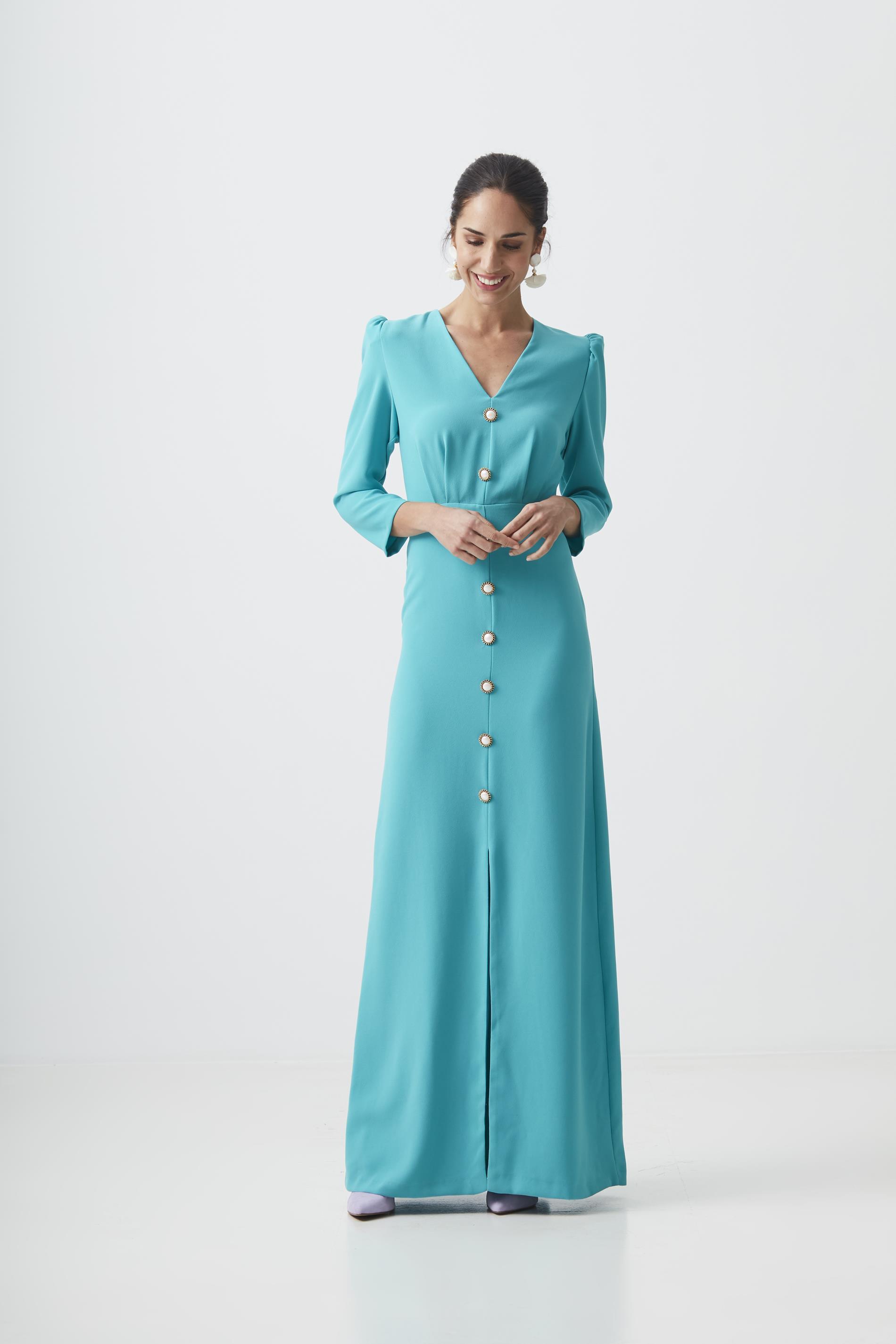 Vestido largo, de Coosy (170 euros).