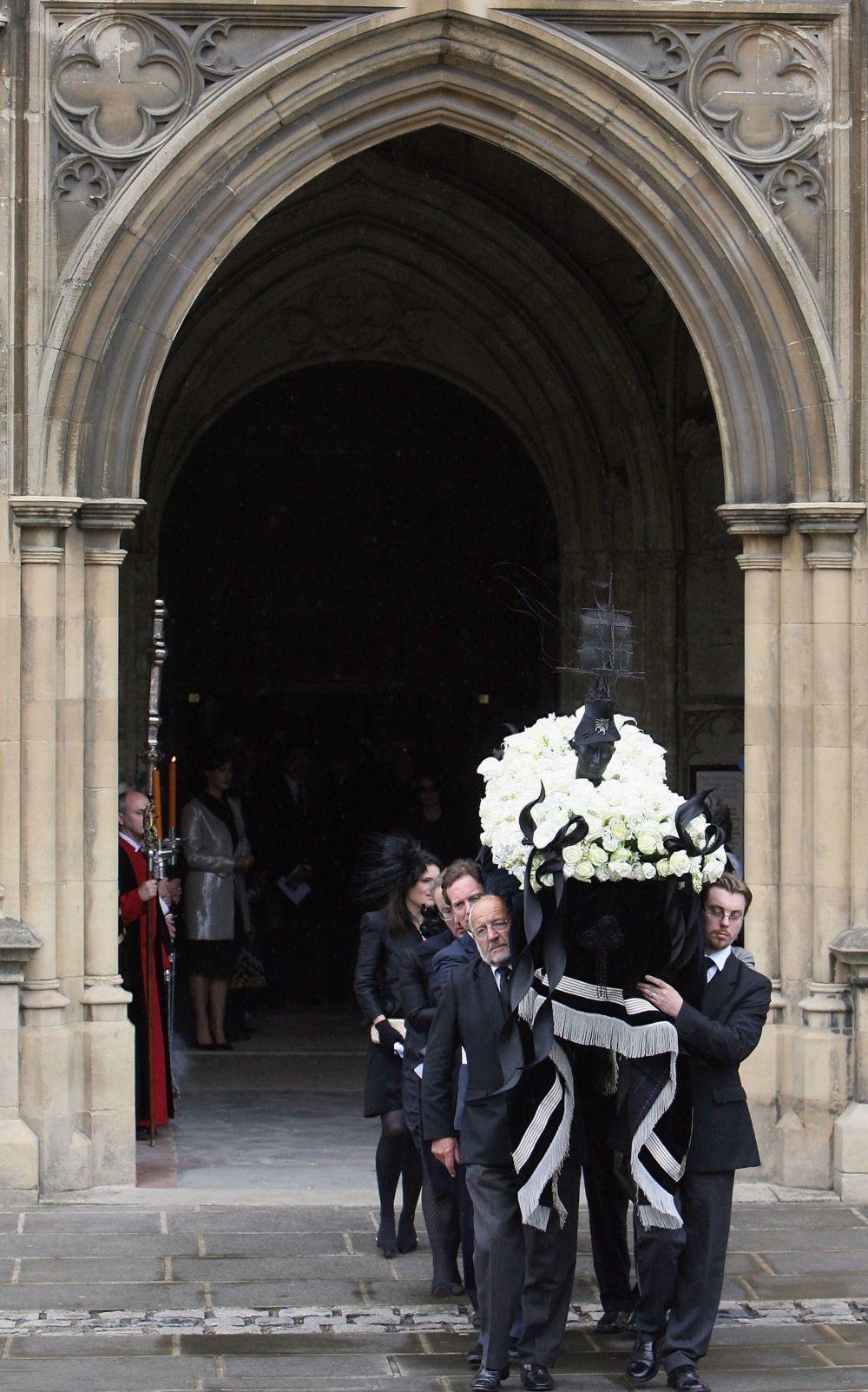 El inolvidable entierro de Isabella Blow, en mayo de 2007.