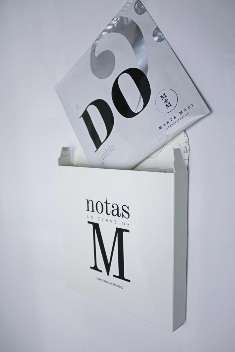 Mascarilla Do de la farmacéutica Marta Masi (5,90 euros, la unidad,...