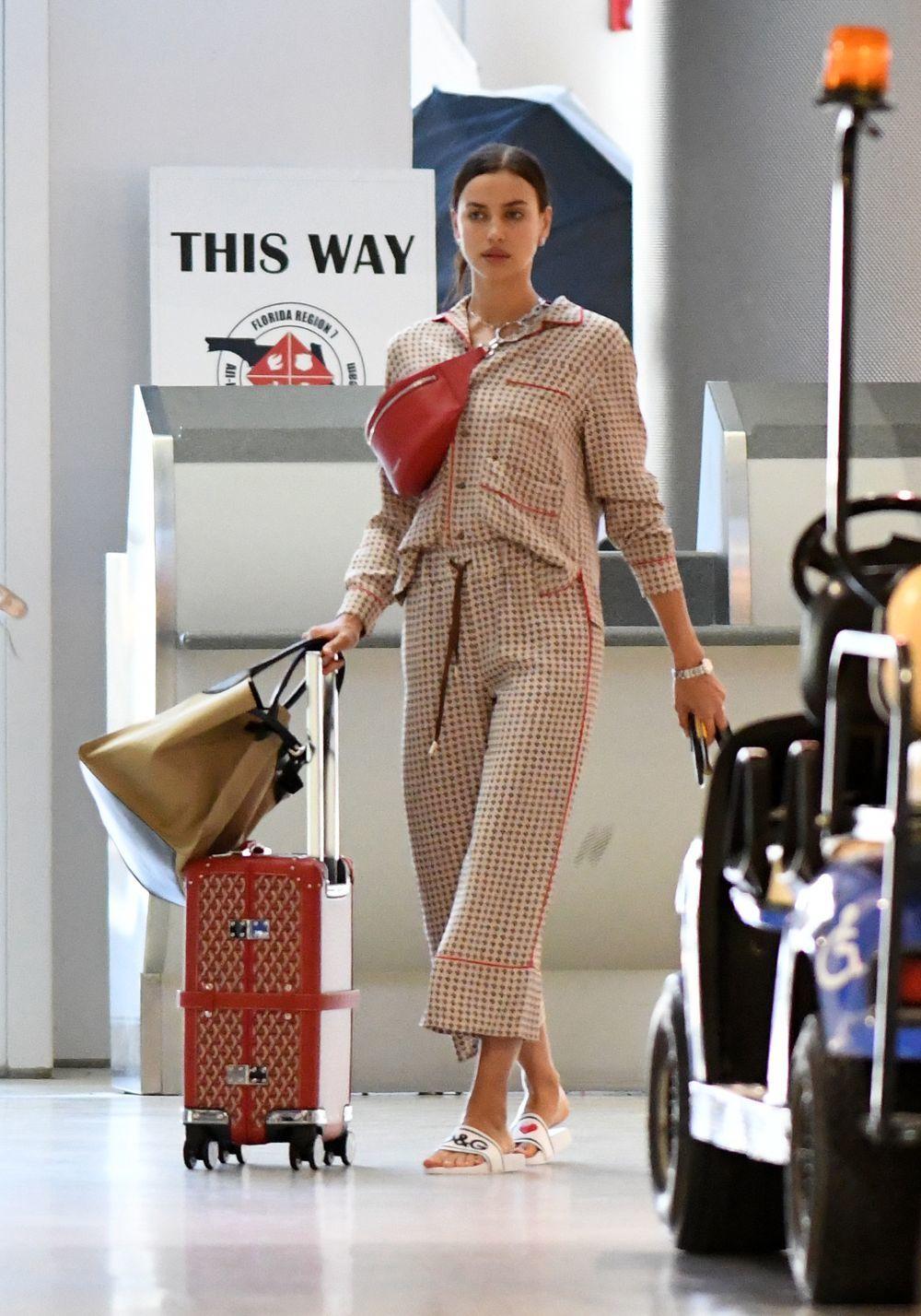 La modelo Irina Shayk.