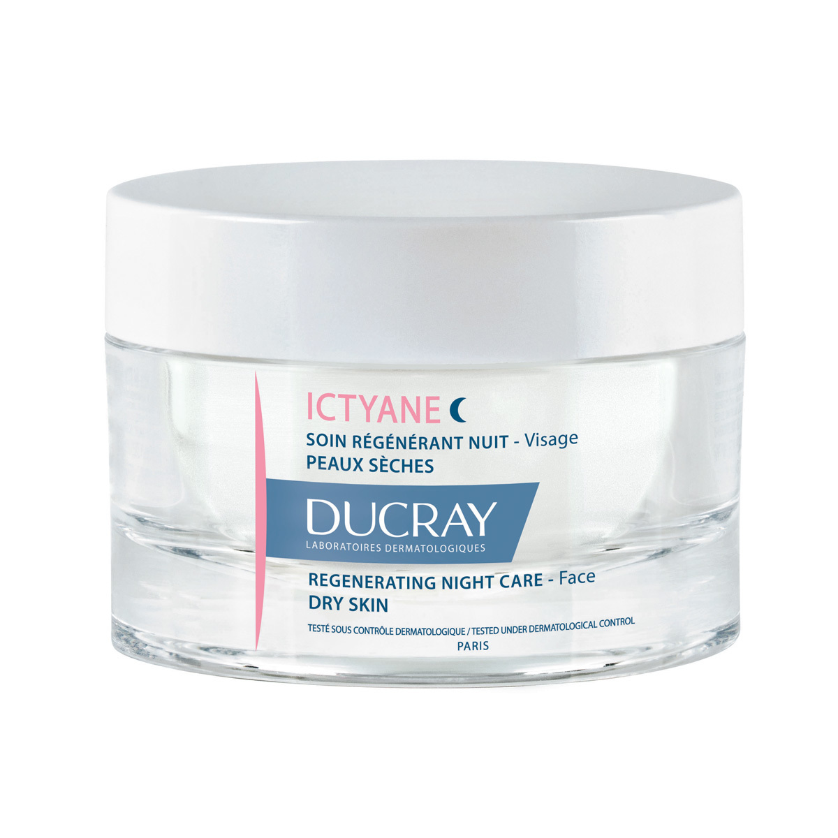 Crema de noche Ictyane cuidado regenerante de Ducray.