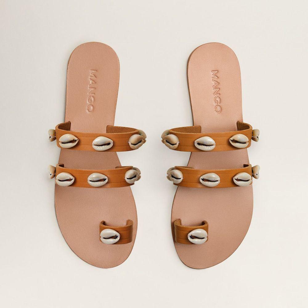Sandalias de Mango.