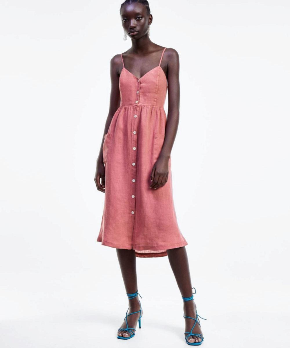 mujer seleccione para el despacho última colección Los vestidos de lino son para el verano   Telva.com
