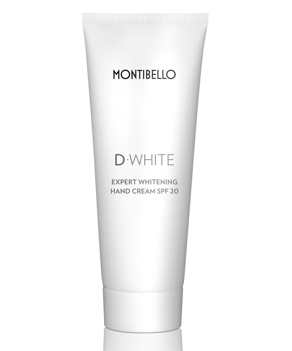 Crema de manos Montibello Expert Whitening SPF20 con acción...