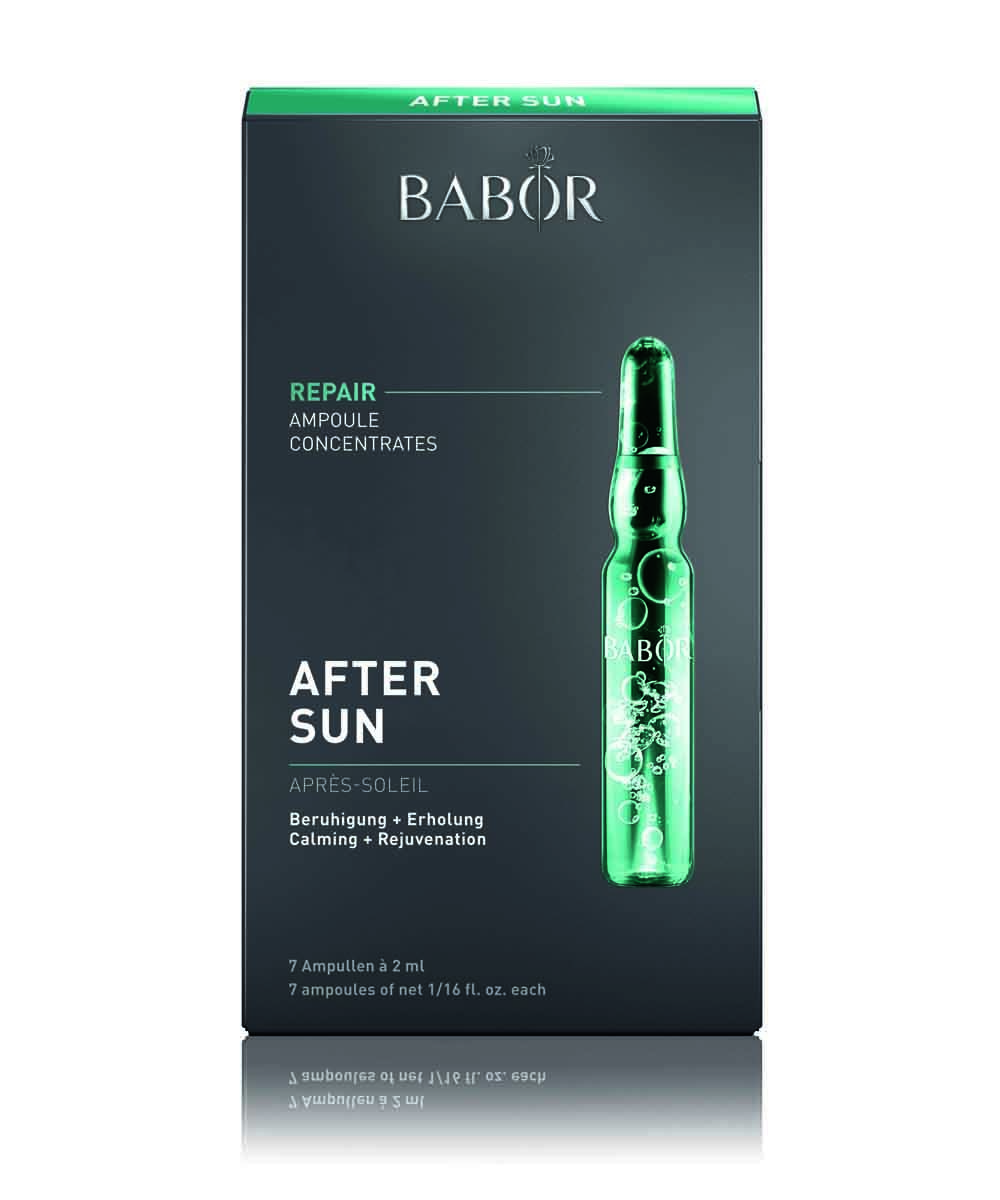 After Sun Repair Ampollas Concentradas para el rostro de Babor.