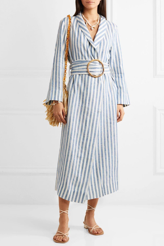 Vestido de rayas de la marca Sleeper.