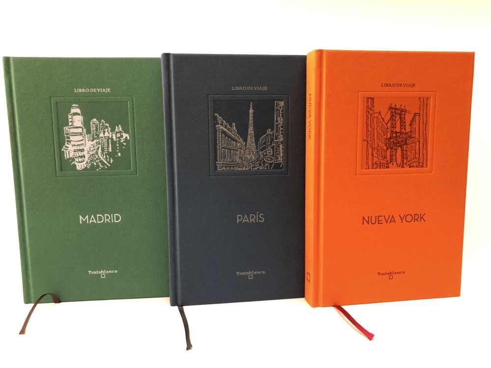 Las primeros Libros de Viaje editados por Tintablanca.