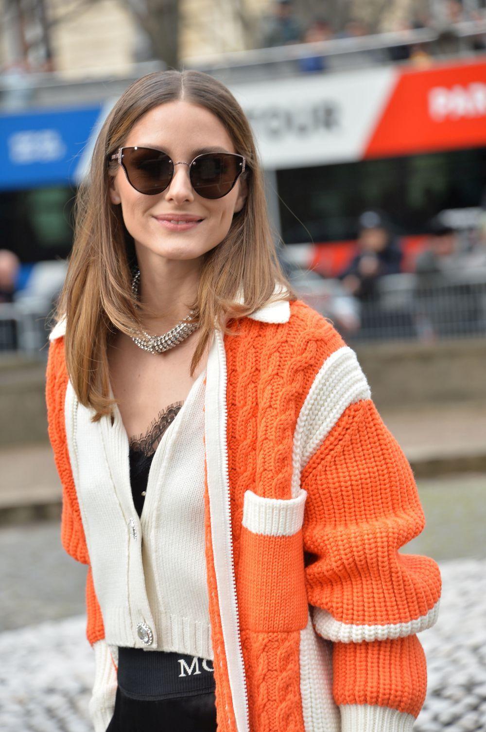 Olivia Palermo rara vez sale de casa sin sus gafas de sol.