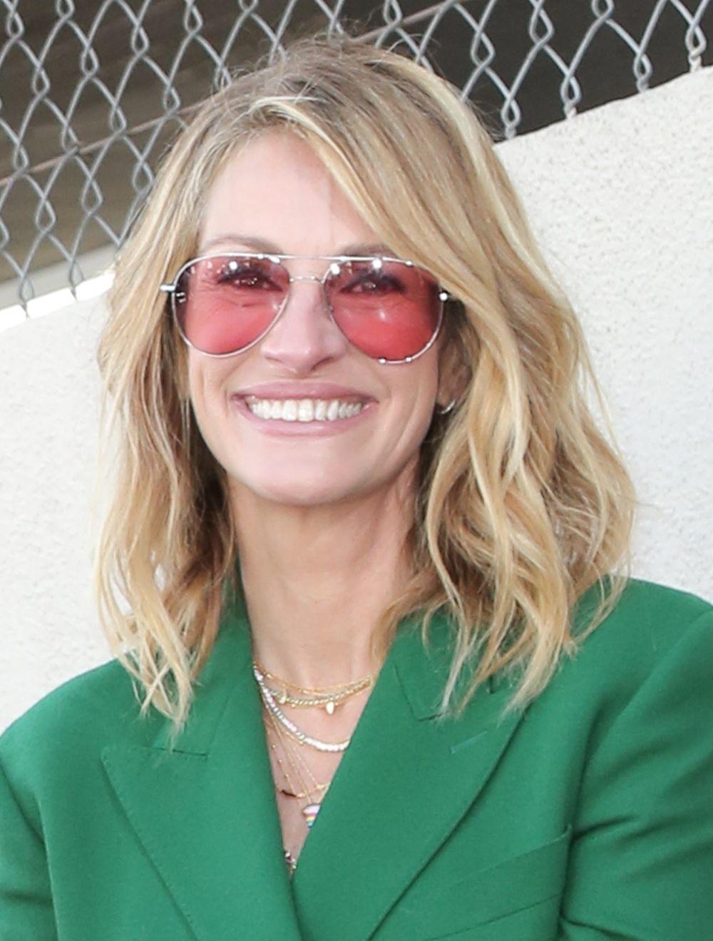 Las de aviador son el modelo elegido por Julia Roberts.