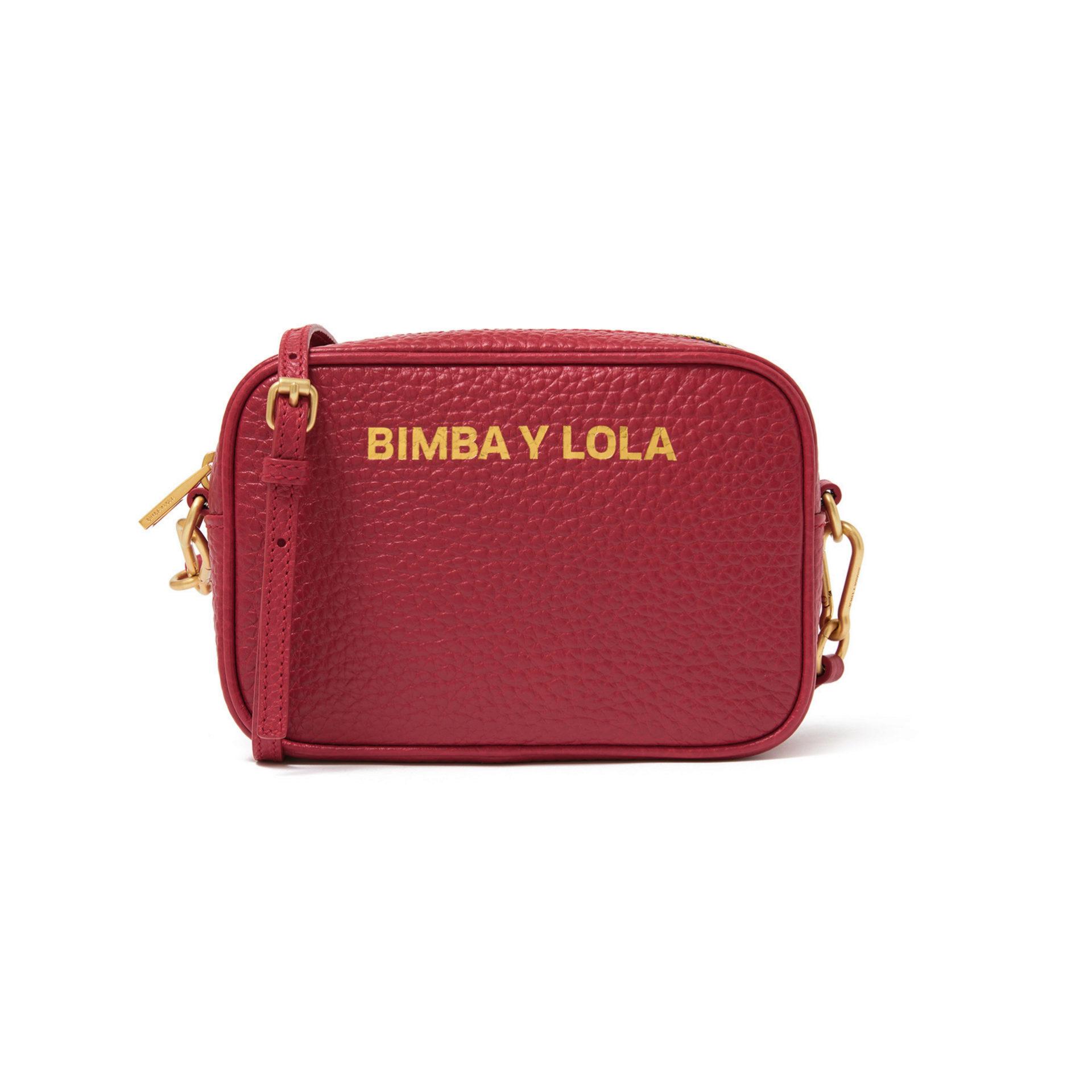 Bolso bandolera de piel de Bimba & Lola