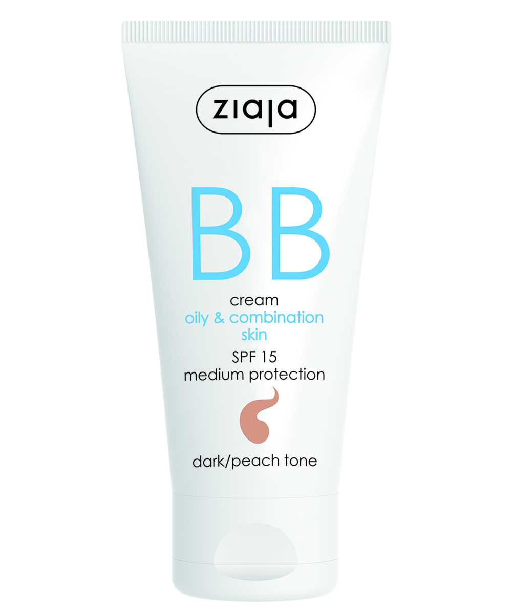 BB Cream de Ziaja para pieles grasas a mixtas.