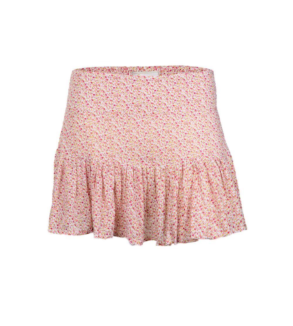 Minifalda de flores de María Malo.