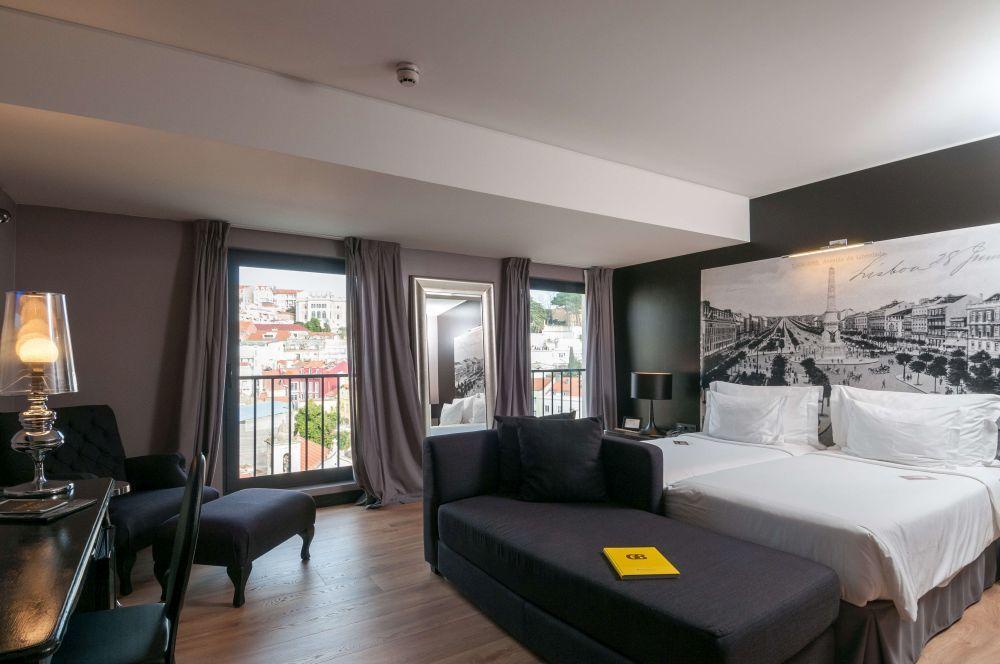 Fontecruz Lisboa, el hotel de la cadena Marriot